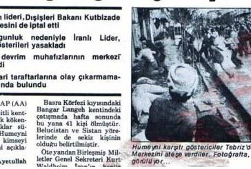 Milliyet Gazetesi Arşivine Göre 1979 İran Devrimi Esenasında İran Türkleri'nin Kimlik Mücadelesi – Babek Şahit
