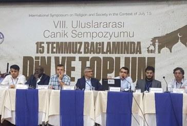 """Canik'te """"15 Temmuz Bağlamında Din ve Toplum"""" Sempozyumu Yapıldı"""