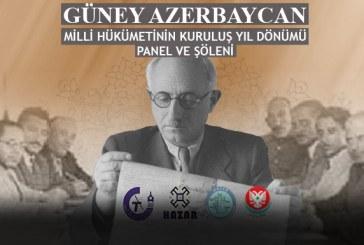 Güney Azerbaycan Milli Hükümeti'nin 73. kuruluş yıldönümü Ankara'da Kutlanacak